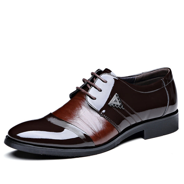 Hebedress Classic Low-Cut Plain Men's Oxfords