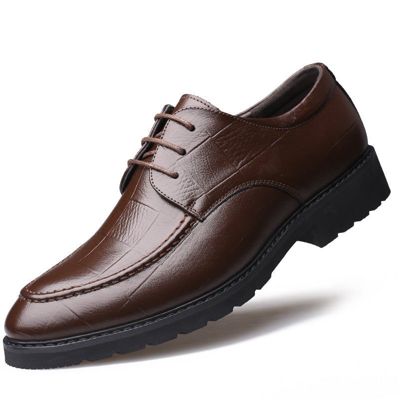 Oxfords da uomo Low-Cut in tinta unita professionale