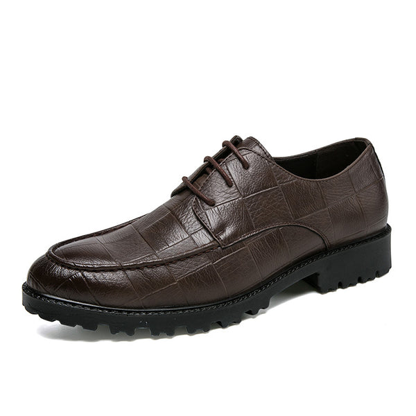 Style britannique Pointu Business Casual Hommes Chaussures