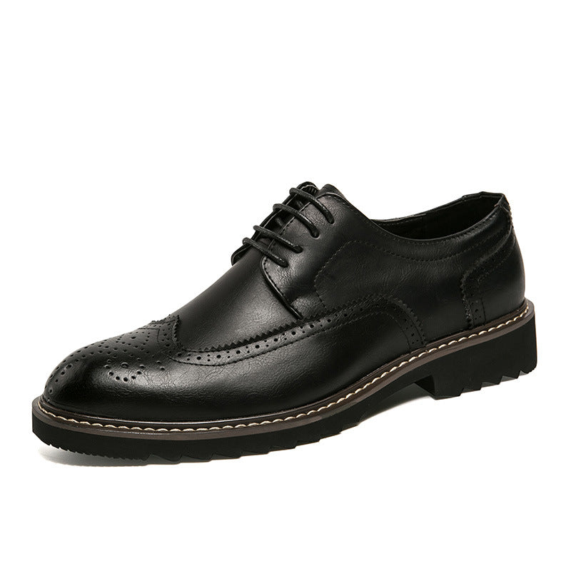 Oxfords da uomo casual traspirante in PU