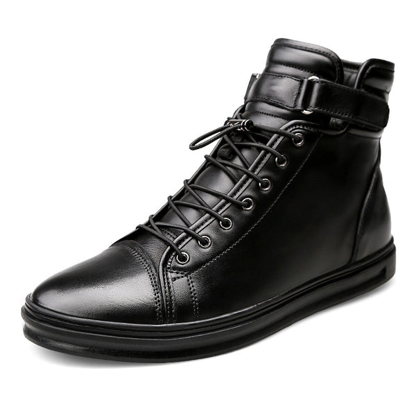 Fashion Lace-Up Front PU Herren Stiefel
