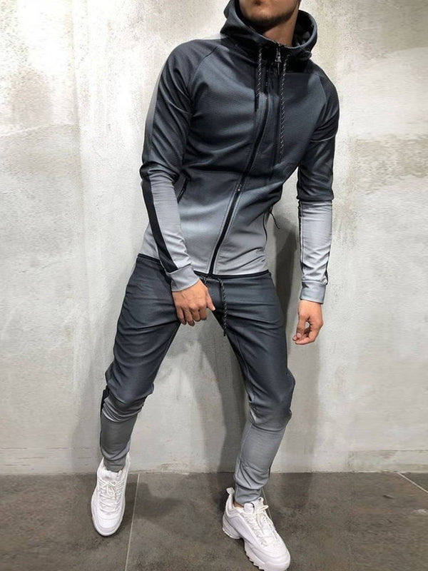 Fashion Two Piece Hip Hop Suit For Men