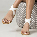 Summer Toe Ring Casual Flat Sandals
