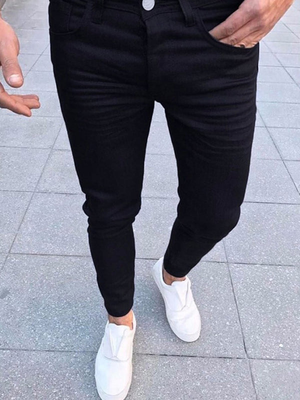 Fashion Slim Men's Casual Pants