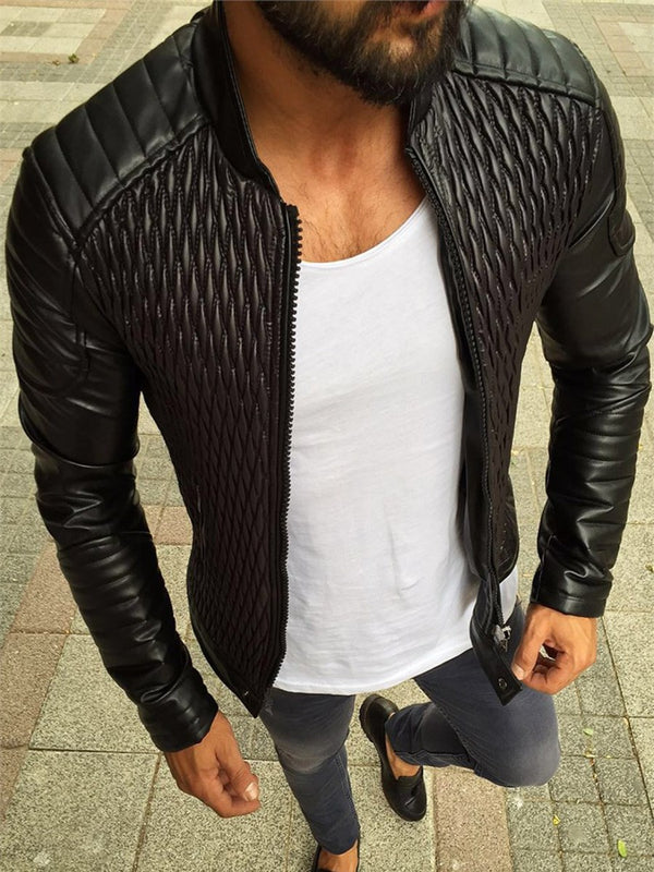 Men's Best Seller Solid Color Jacket