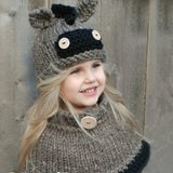 Cotton Blends Little Donkey Cute Baby Hat Winter Outdoor Hat