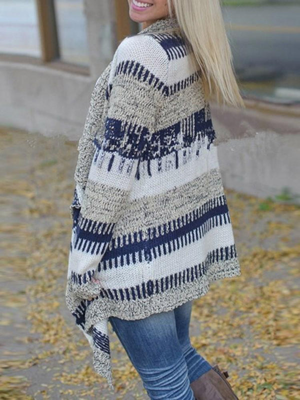 Paint Splatters Spring Loose Sweater