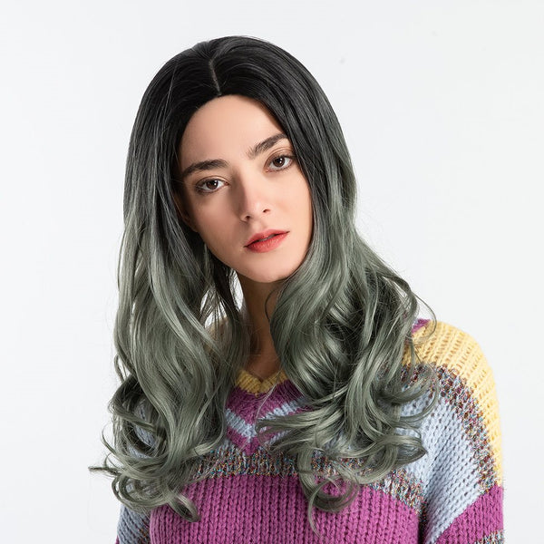 Loose Wave Women Capless Synthetic Hair 130% Wigs