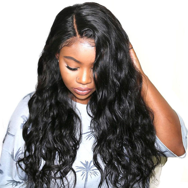 Women Synthetic Hair Big Curly Lace Front Cap 24 Inches Wigs