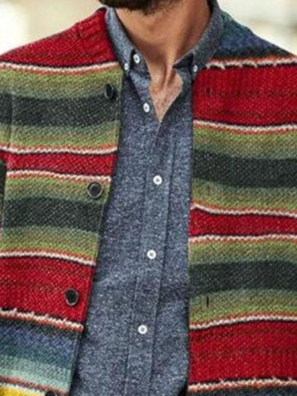 Stripe Standard European Winter Sweater