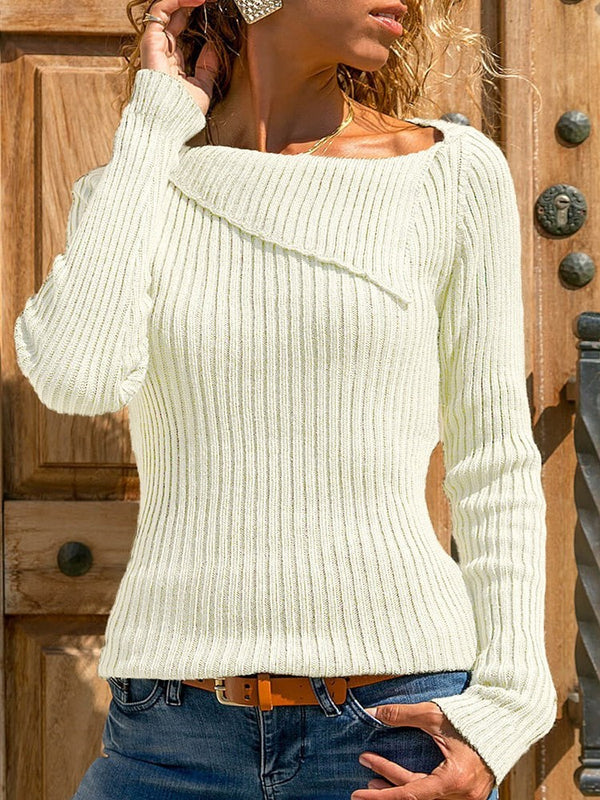 Regular Slim Fall Sweater