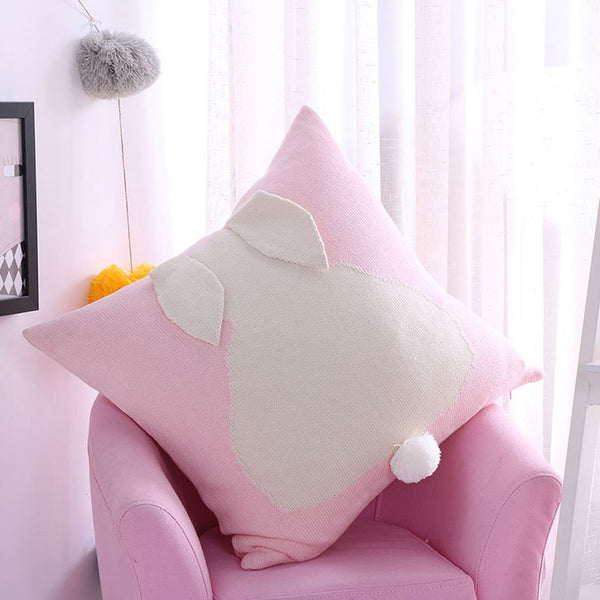 Cotton Pillowcase Color Block