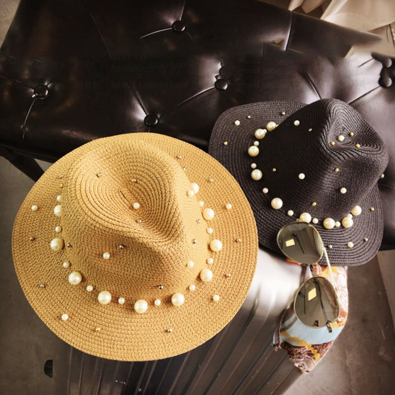 Korean Straw Plaited Article Sun Hat Spring Hats