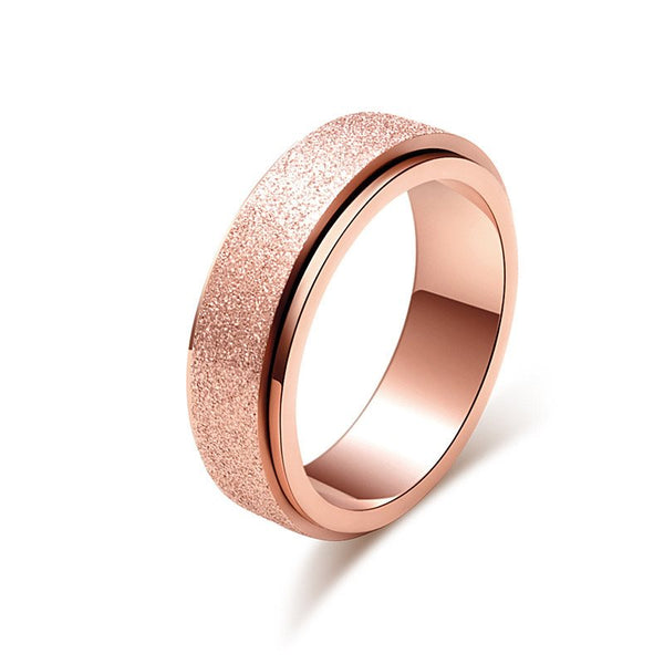 E-Plating Titanium Steel Romantic Party Rings