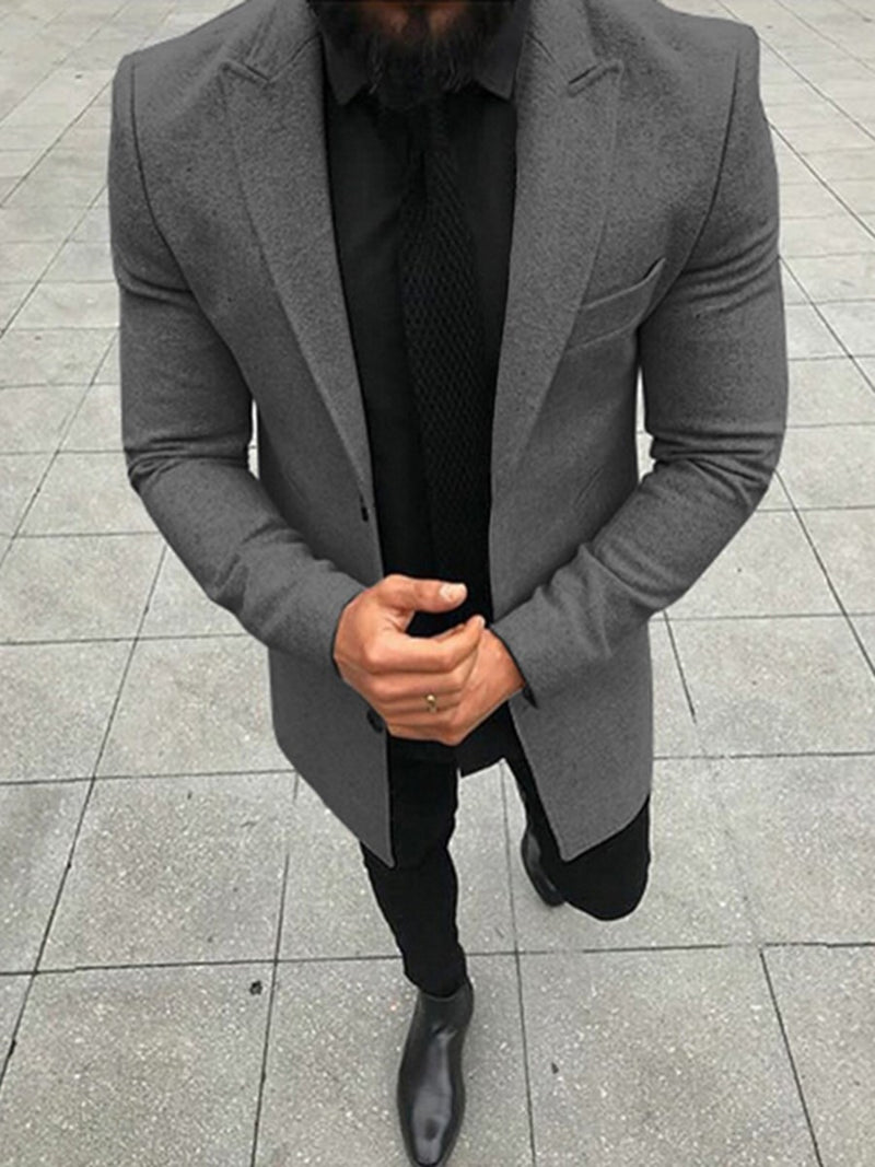 Straight Plain Blazer