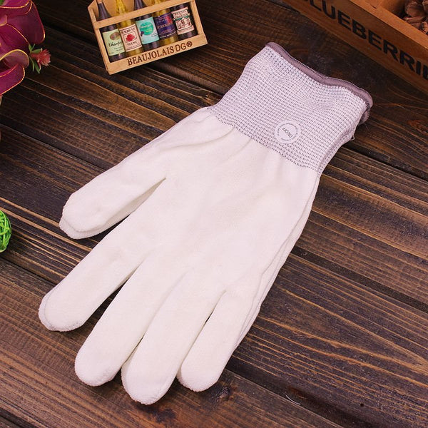 White Led Plain Gloves Novelty Glowing Gloves