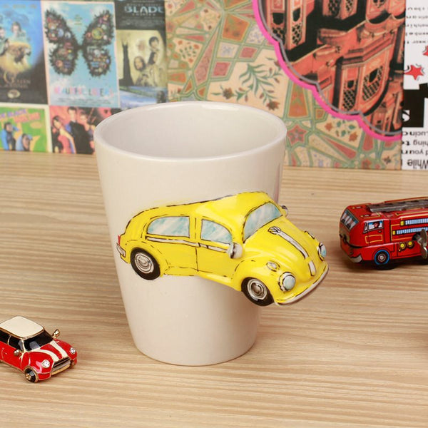 Direct Drinking 3D Bus Mugs