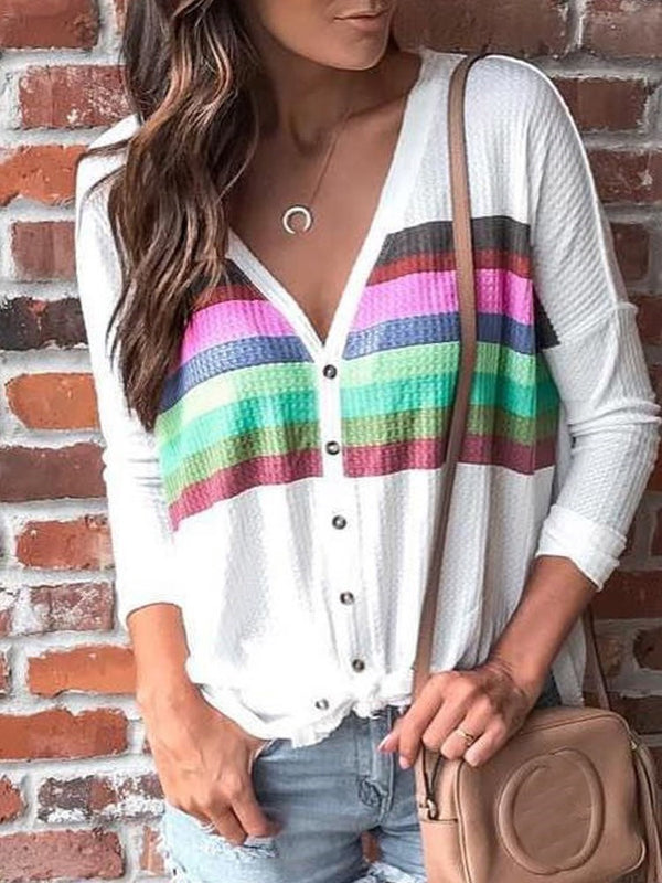 Regular Loose V-Neck Sweater