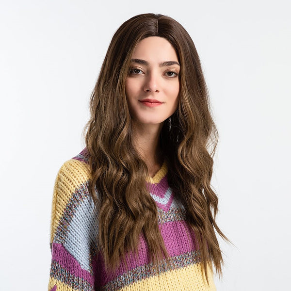 Loose Wave Cheveux Synthétiques Capless Femmes 130% Perruques