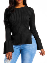 Long Sleeve Slim Sweater