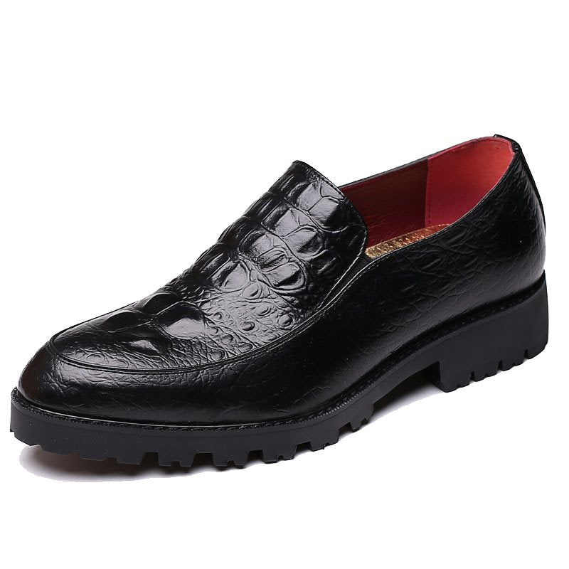 Round Toe Slip-On Professional Men's Oxford