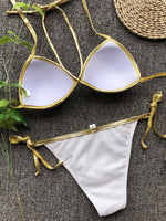 Plain Sexy Bikini Set Swimwear