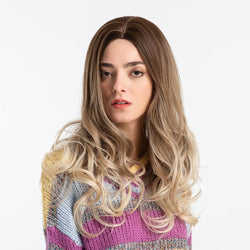Capless Women Loose Wave Synthetic Hair 130% Wigs