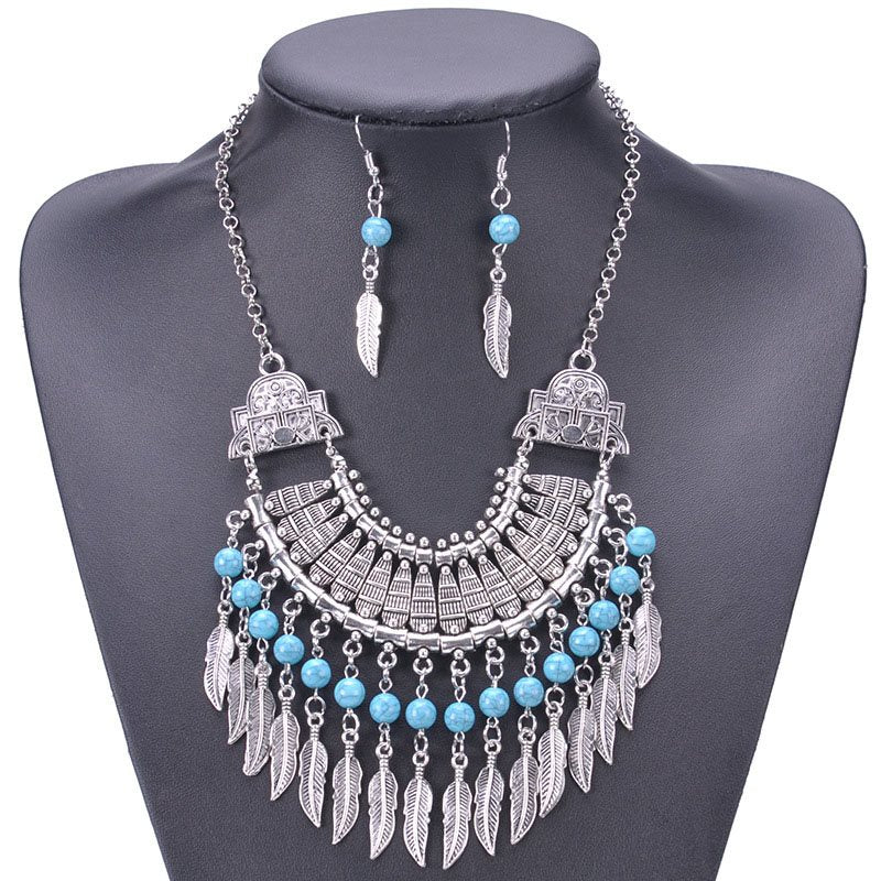 E-Plating Earrings Vintage Holiday Jewelry Sets