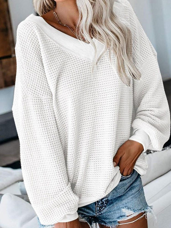 Regular Loose Mid-Length Sweater