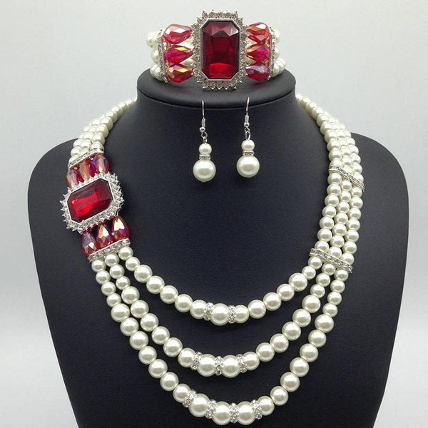 Parure collana Diamante European Anniversary Jewelry