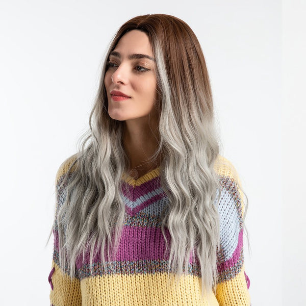 Capless Femmes Cheveux Synthétiques Loose Wave 130% Perruques