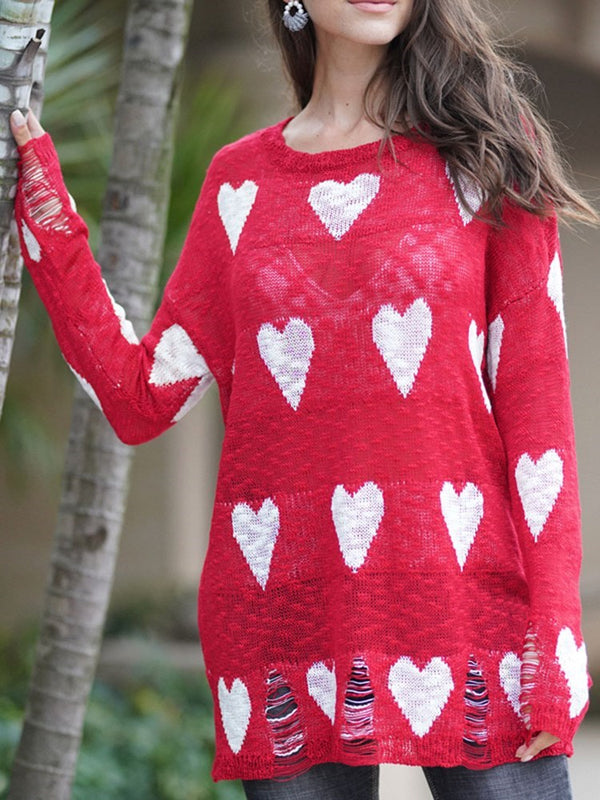 Beach Top a forma di cuore europeo patchwork