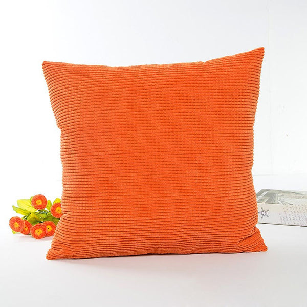 Corn Granular Fabric Pillowcase Plain