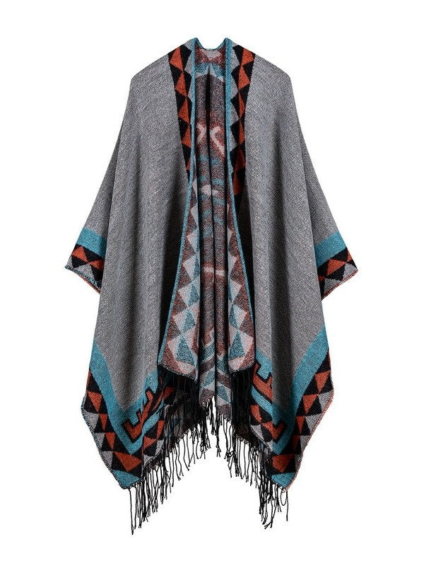 Geometric Winter Cape