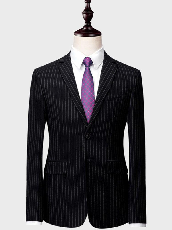 Pants Stripe Dress Suit