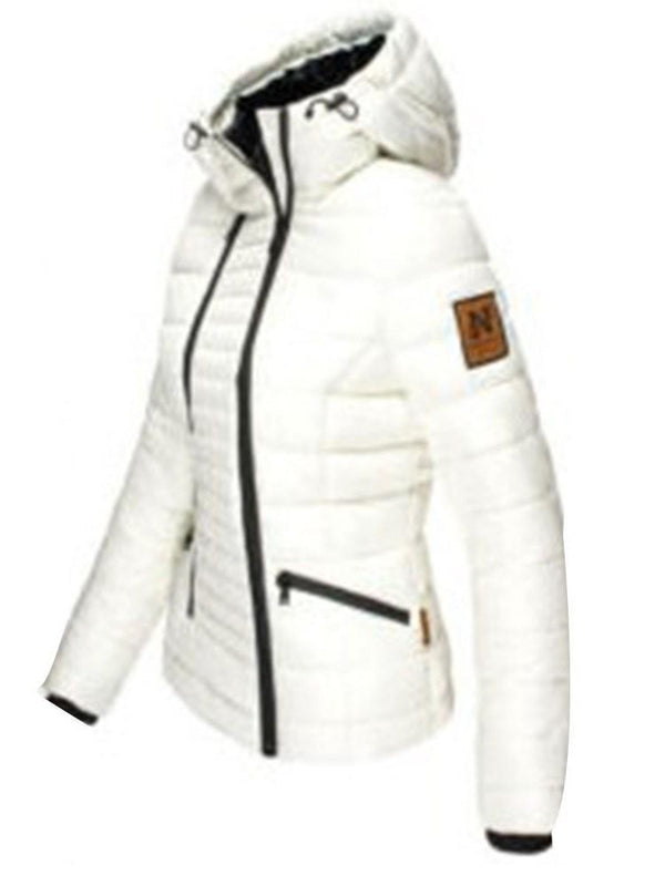 Zipper Slim Zipper Standard Cotton Padded Jacket
