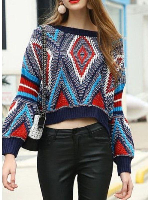 Regular Round Neck Loose Sweater