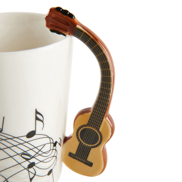 Wooden Guitar Coffee Mug Gifts
