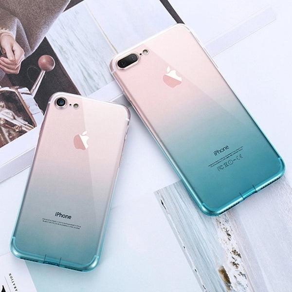iPhone 6 6S 7 8 Plus Custodie ultra sottili per iPhone X XS Max XR Clear Case protettive in TPU per iPhone 5S 5 SE