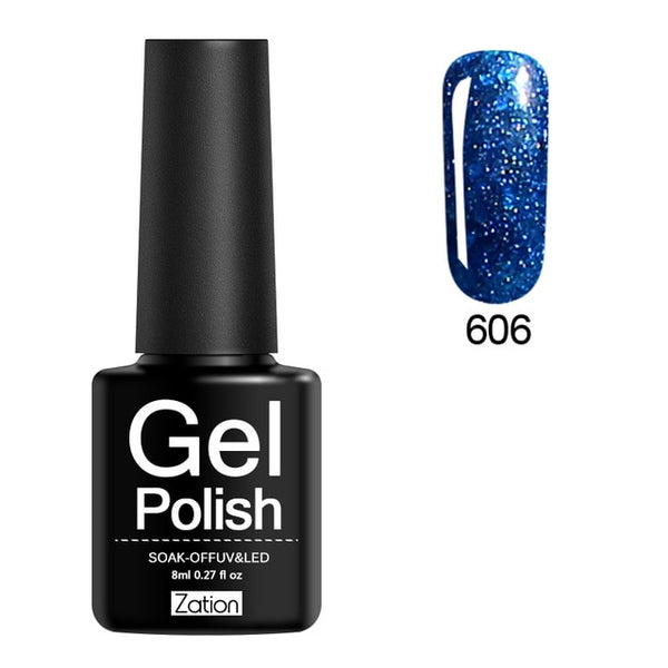 2019 Diamond Shiny Sequin Glitter UV Gel Nail Polish
