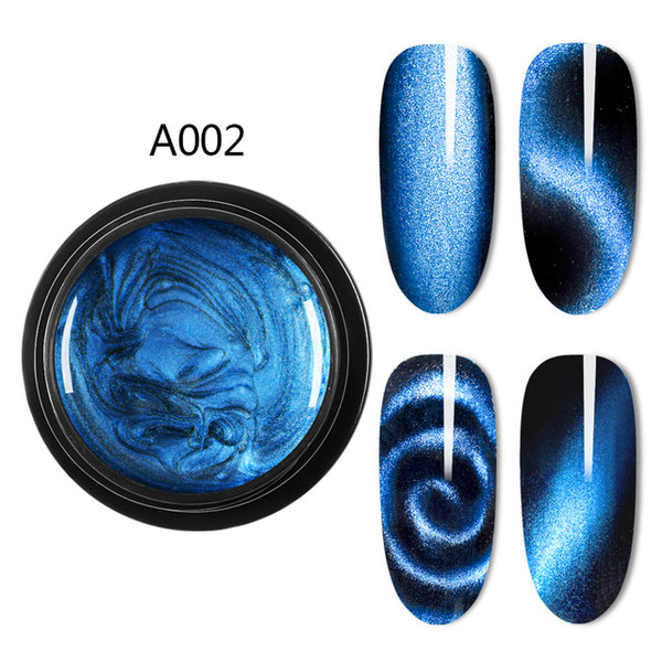 Magnetic 5D Cat Eye Gel UV Nail Polish Magnet Laser Nail art