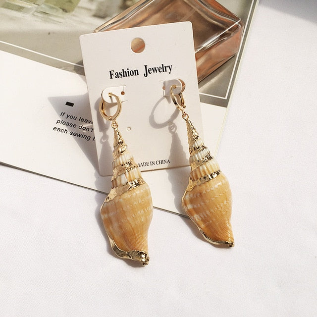 Bohemian Sea Ocaen Style Earrings