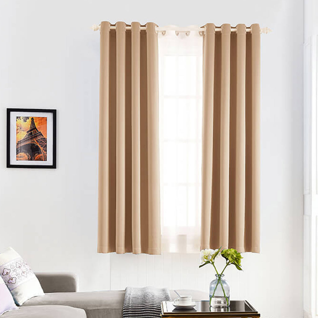 SNOWCITY Flame Retardant Curtains, 1 Panel - snowcity