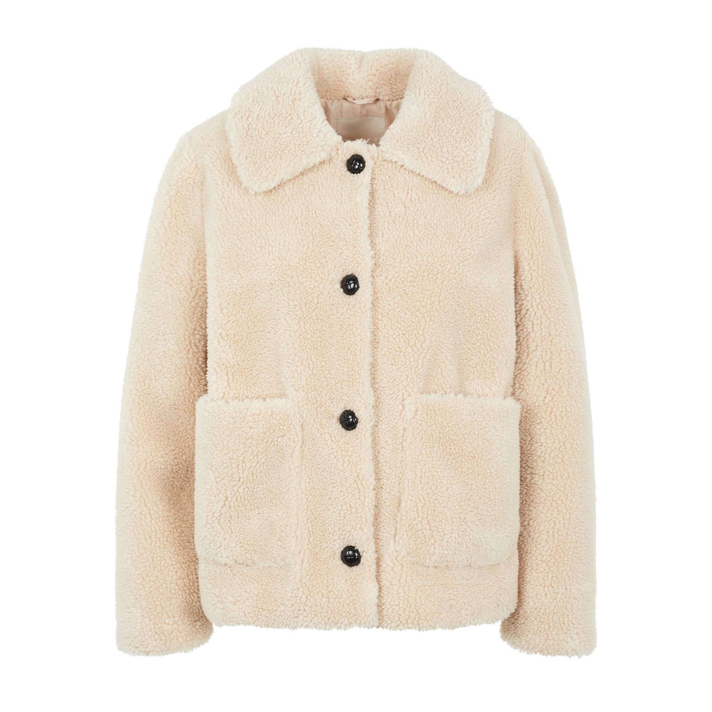 Teddy jacket kort