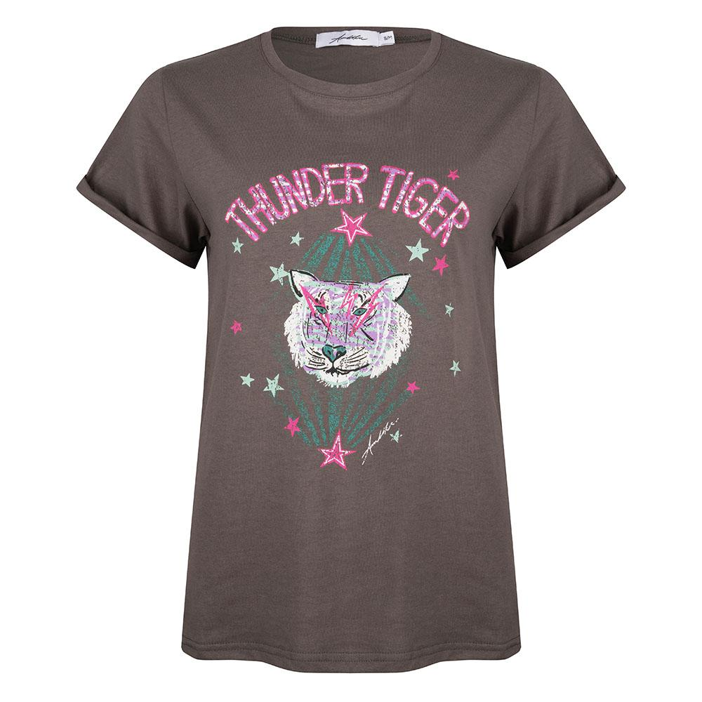 Thunder tiger tee grey