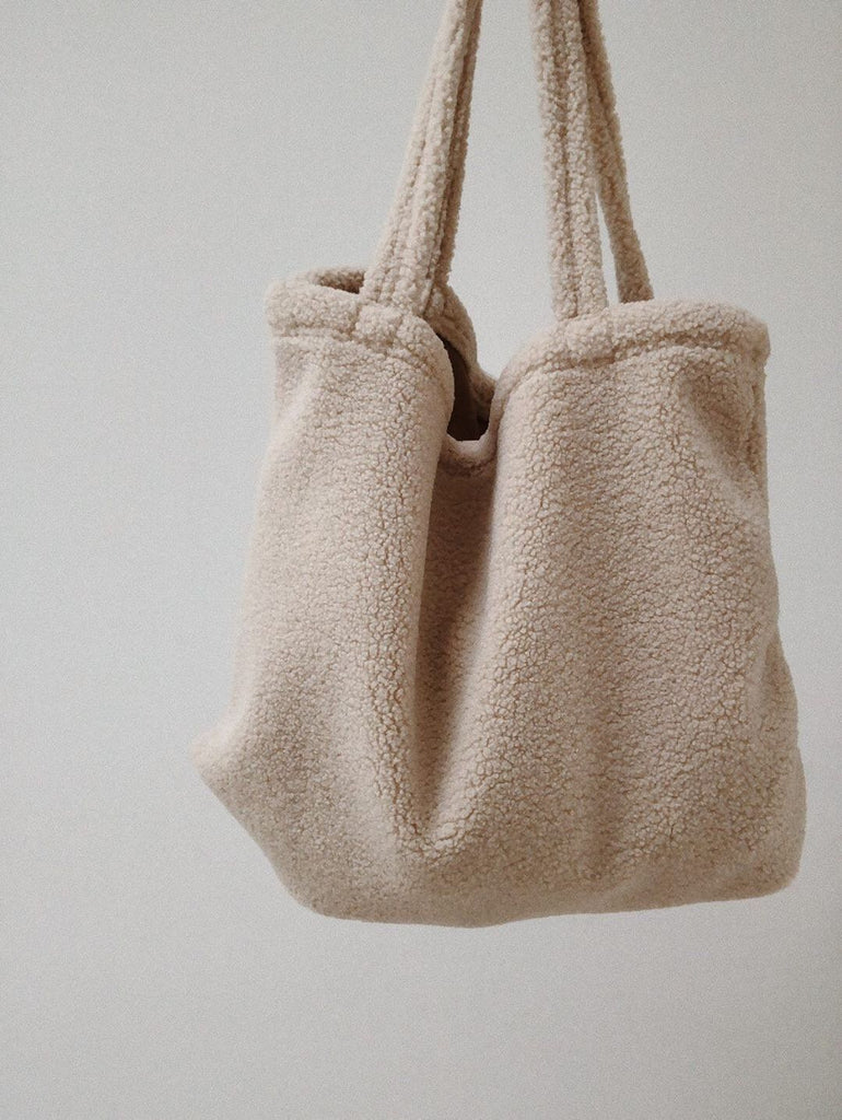 Studio NOOS teddy bag off white