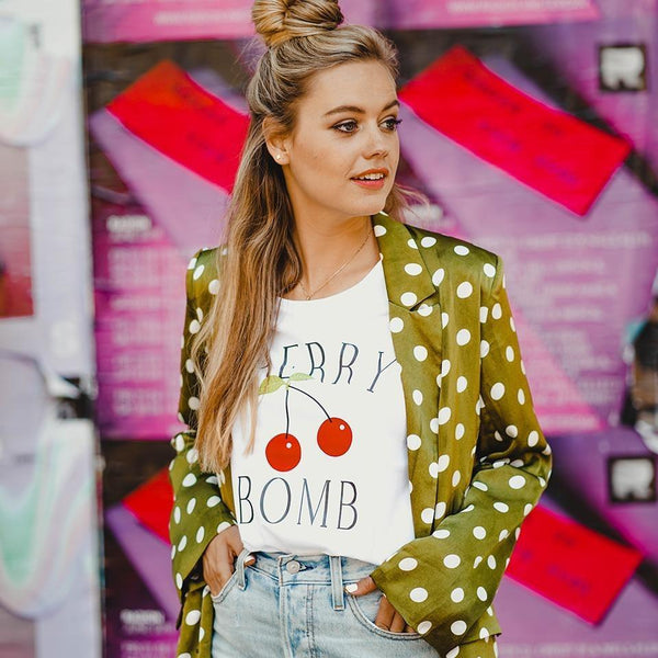 Cherry bomb t-shirt Forever Friday