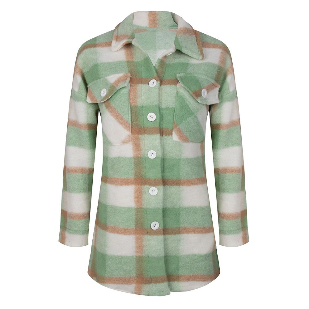 Double check jacket green