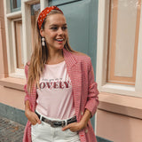 LOVELY TEE PINK