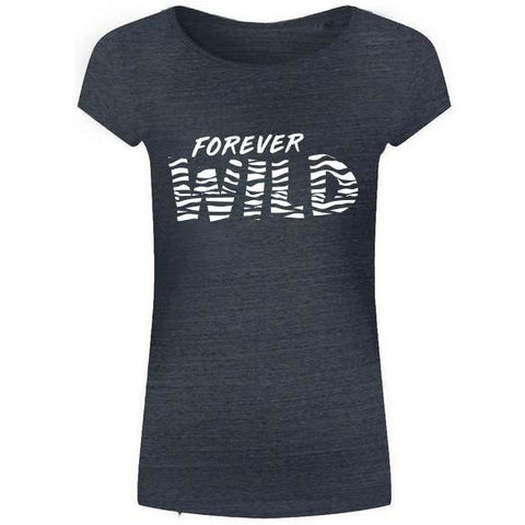 FOREVER WILD TEE GREY
